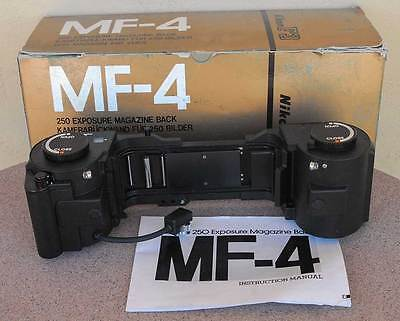 Nikon MF-4 250 Exposure Back for F3 F3HP F3AF F3T MF4 - Matching Serial Numbers