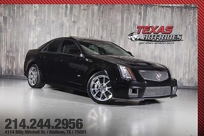 2012 Cadillac CTS V Sedan 4-Door 2012 Cadillac CTS-V Sedan 4-Door CTSV Supercharged! 556-HP! Extremely Clean!