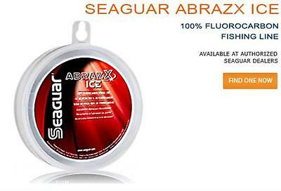 SEAGUAR ABRAZX Ice 3 LB 50 YD FLUOROCARBON LINE NEW