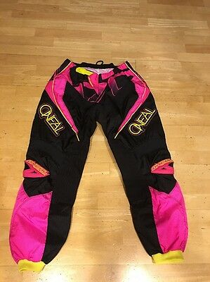 Oneal Element Series Advanced Racing Pants Womans 9/10 New !