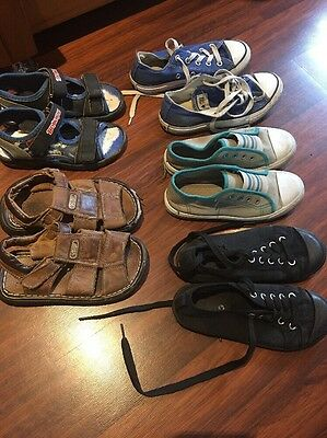 Shoes Runners Sandals Boys Inc Converse Size 11 & 12