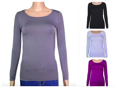 Women Long Sleeves UnderShirt Cover Thermal Base Layer XSmall, Small
