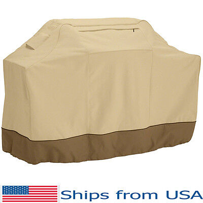 """BBQ Grill Cover Weber Gas Barbecue Heavy Duty Outdoor Patio Waterproof 58"""" 72"""""""