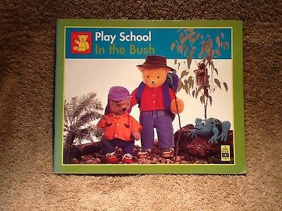 Play School In The Bush softcover book with Colin Buchanan  good condition