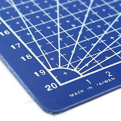 New A4 Cutting Mat Printed Grid Lines Scale Plate Leather Paper Board Masterly