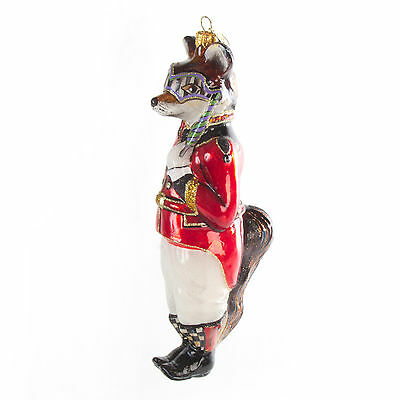 MacKenzie-Childs Christmas Ornament-Sly Foxworthy-Chicken Palace Ball Collection