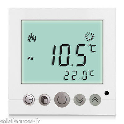 funk thermostat infrarotheizungen panel heizk rper elektroheizung programmierbar eur 56 38. Black Bedroom Furniture Sets. Home Design Ideas