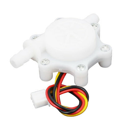 G1/4 0.1L/mim-4.5 L/min Wired Hall Effect Water Flow Sensor White