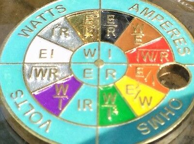 V2 ELECTRICS COLOR CODE & FORMULAS WHEEL - LIMITED EDITION PATHTAG with glow