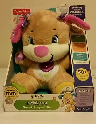 Fisher-Price Laugh and Learn Smart Stages Sis (with Bonus DVD)