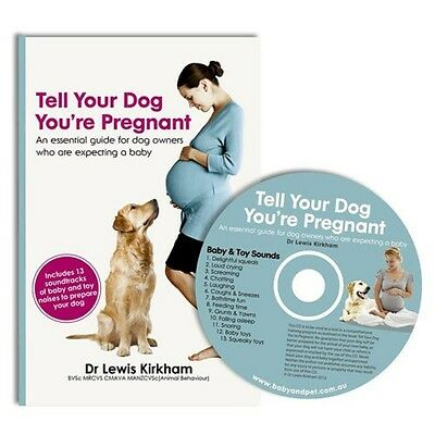 Tell your Dog You're Pregnant Book and CD