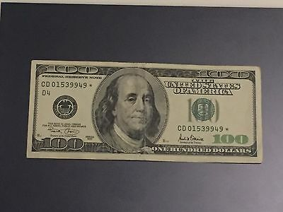 US$100 Star note