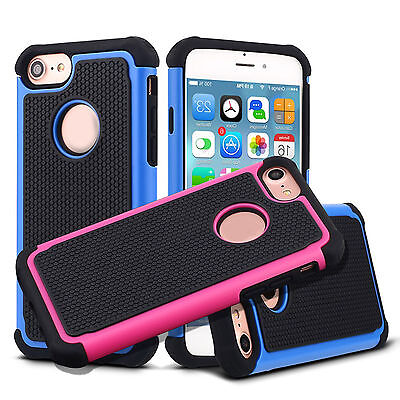 Ultra-thin Shockproof Bumper Soft Rubber Back Case Cover for iPhone 7 Plus