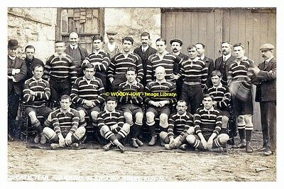 rp13921 - Cornish Rugby Team 1907-08 with Frederick S Jackson - photo 6x4