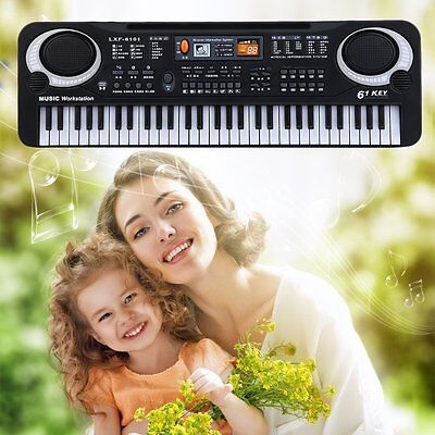 New 61 Key Child Electronic Digital Keyboard Electric Organ With Microphone  HY