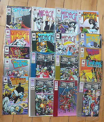 18 Valiant Comics Mixed titles as pictured Free UK P&P