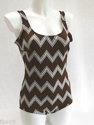 SUPERB 60's VINTAGE CLASSIC STYLE LADIES SWIMMING COSTUME SWIMSUIT 10 - 12 NEW