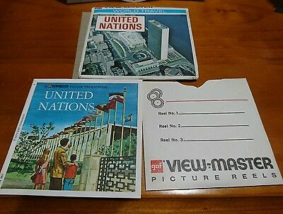 United Nations 1970 GAF view master view-master
