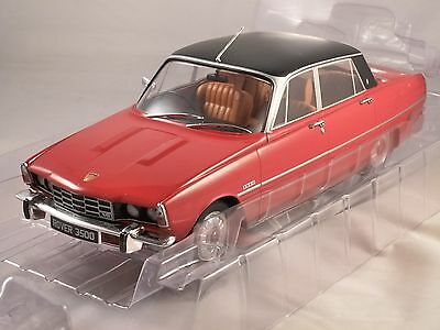 1974 ROVER P6 3500 V8 in Red 1/18 scale model by MCG