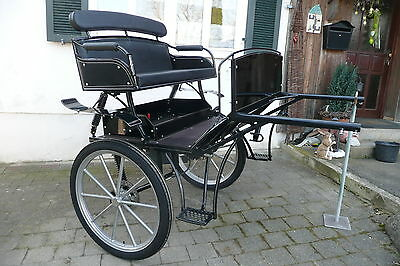 KUFA - carriages, exclusive Sulky, Gig, Leisure Carriage Independant suspension