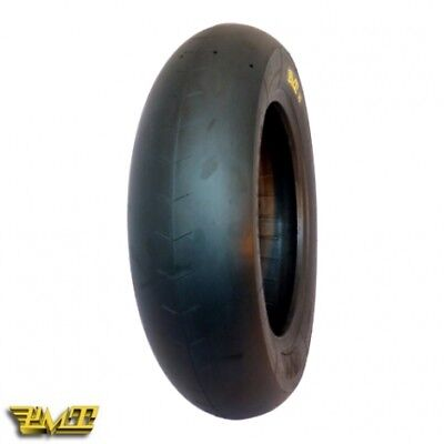 "Gomma PMT Slick Soft 120/80-12"" Per Pit Bike Motard"