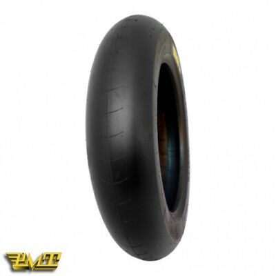 "Gomma PMT Slick Soft 100/90-12"" Per Pit Bike Motard"