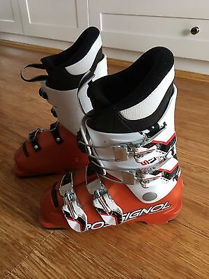 Rossignol Radical Junior Racing Ski Boots Size 19.5 240mm World Cup SI 65 Kids