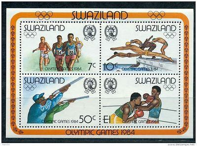 Swaziland 1984 Olympic Games MS MNH