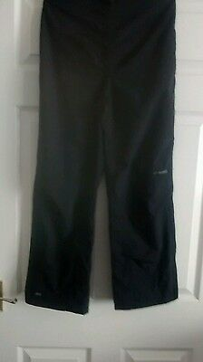 Boys mountain life lined waterproof trousers age 11-12yrs
