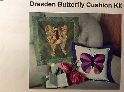 New Dresden Butterfly Cushion Kit By Vintage Inspirations
