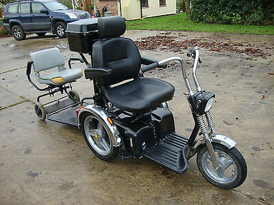 2007 Tga Supersport Sportster All Terrain Mobility Scooter With Trailer