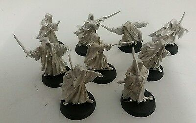 games workshop  Lord of the rings metal the 9 ring wraiths nazgul