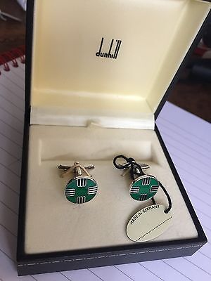 New Dunhill 925 Sterling Silver Cufflinks