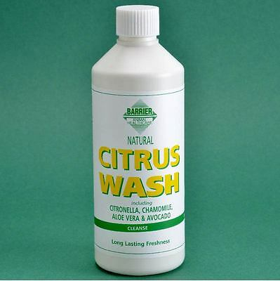 Barrier Citrus Wash for Horses - No Rinse - 500ml