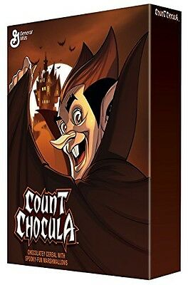 General Mills (Pack of 2) Limited Edition Count Chocula Cereal 10.4 Oz