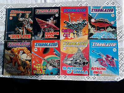 Vintage Starblazer Comic Book Collection Numbers 1 to 49