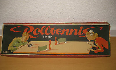Rolltennis Patent Made in Germany um 1900 selten/N001