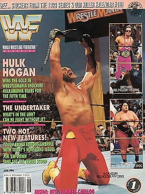 Wwf Magazine  June 1993
