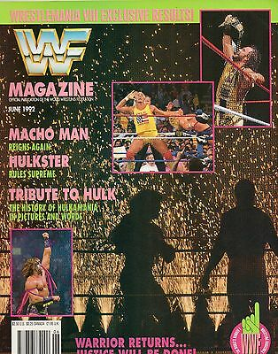 Wwf Magazine June 1992