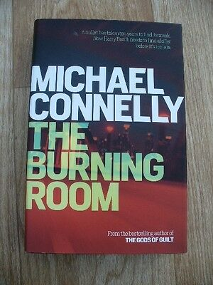 Michael Connelly - The Burning Room (Hardback 1st Edition 1st Printing 2014) VGC