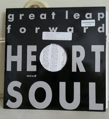 "Great Leap Forward Heart And Soul 12"" Promo + Press Release"