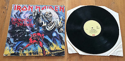 IRON MAIDEN The Number of the beast - LP -  Vinyl