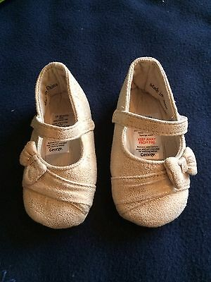 Girls Pretty Soft Shoes Age 12-18 Months