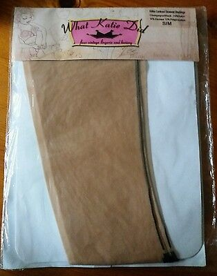 What Katie Did Retro Contrast Seamed Stockings S/M