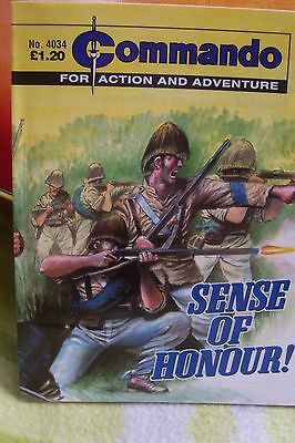 Commando Comic.No 4034......Sense of Honour!.........For Action and Adventure.