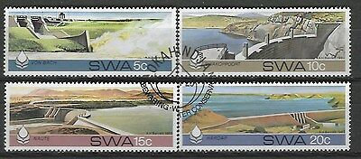 SOUTH WEST AFRICA 1980 Sc#467-70 WATER CONSERVATION IN THE DESERT USED 2309