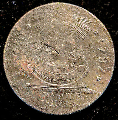 1787 Fugio Cent United States Colonial Coin