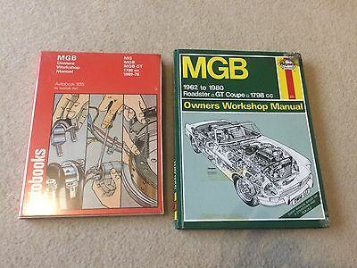 MGB Owners Workshop Manual  Haynes, Autobook 935