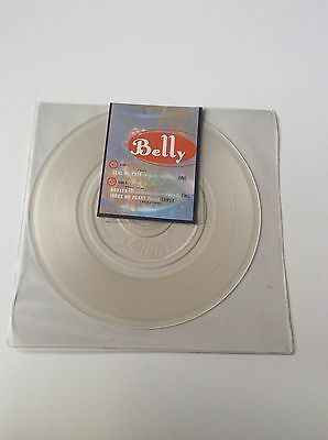 """Belly - Seal My Fate 7"""" Clear Vinyl Limited Edition Single - Sealed & Unopened"""