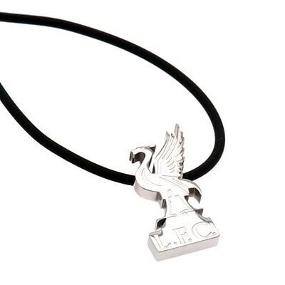 Liverpool F.C. Stainless Steel Pendant & Cord LB NEW